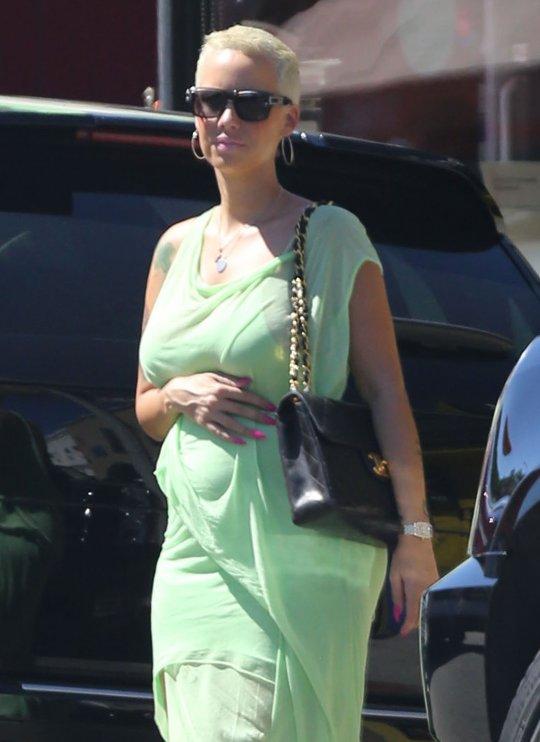 Amber Rose Pregnant