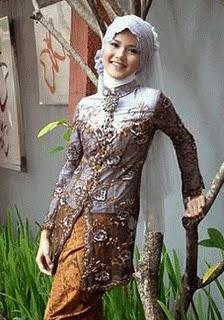 Model kebaya muslim remaja trendy