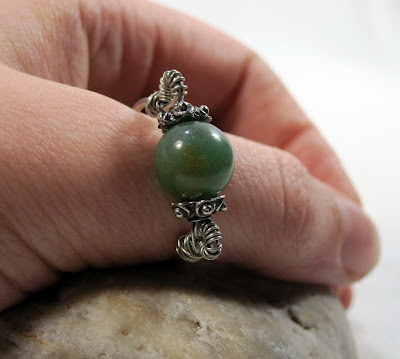 Wire Wrapped Ring Shank
