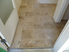 Travertine Flooring over Plywood Foundation