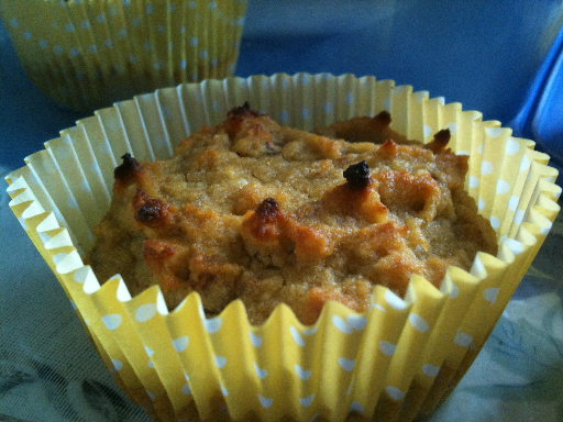 gluten free, dairy free, grain/wheat free Honey Nut Muffins