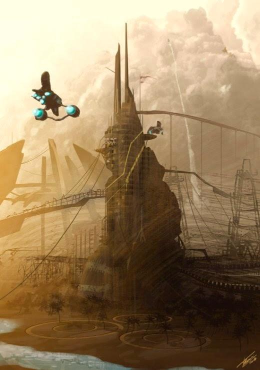 Tommaso Renieri deviantart ilustrações ficção científica fantasia