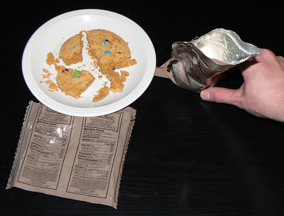 MRE Review: Menu 8, Cookie