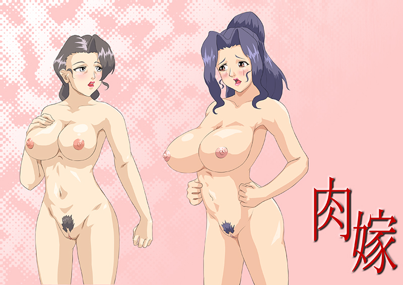 Naked Sumie and Naked Mitsuko