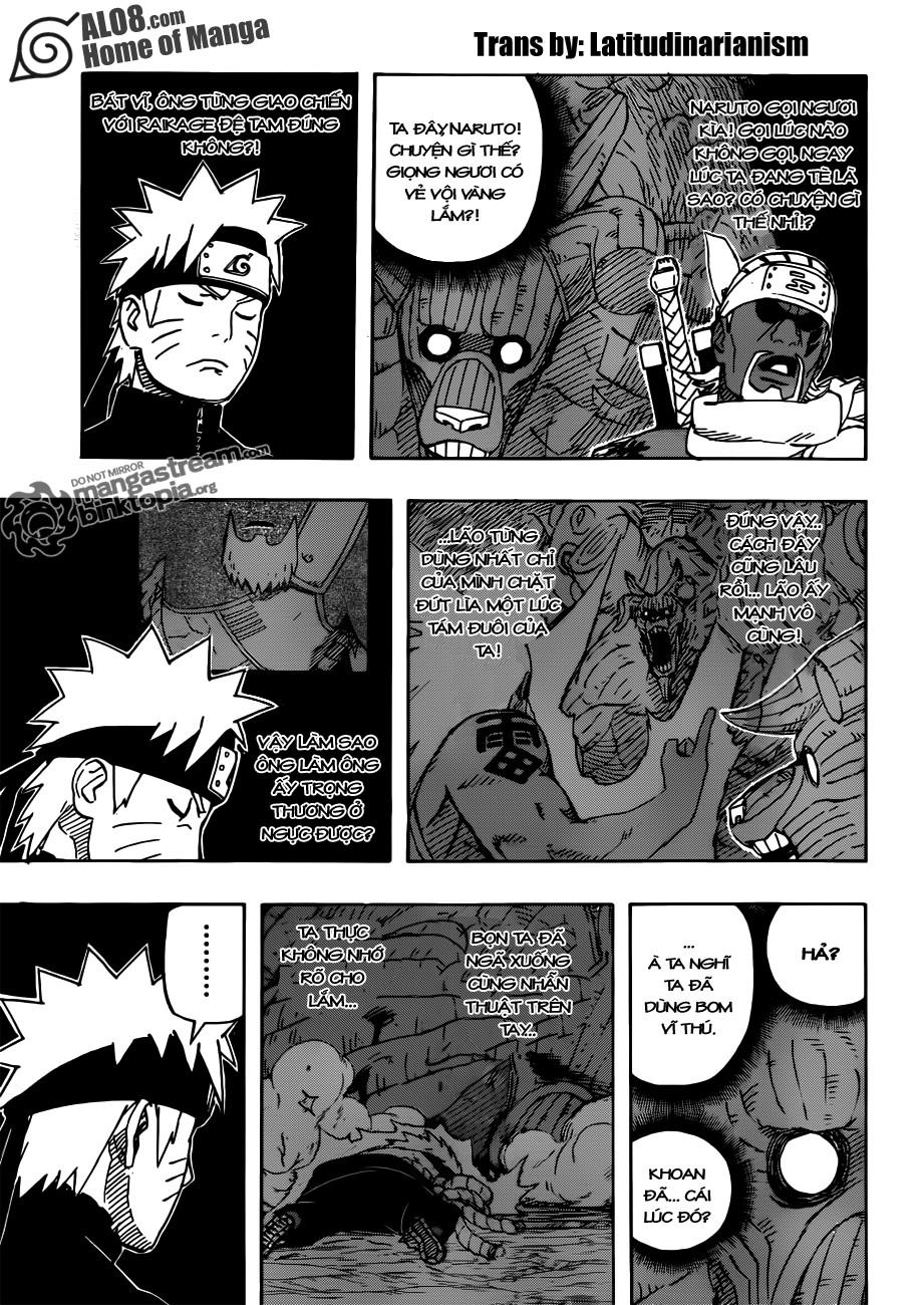 Naruto chap 555 Trang 9 - Mangak.info
