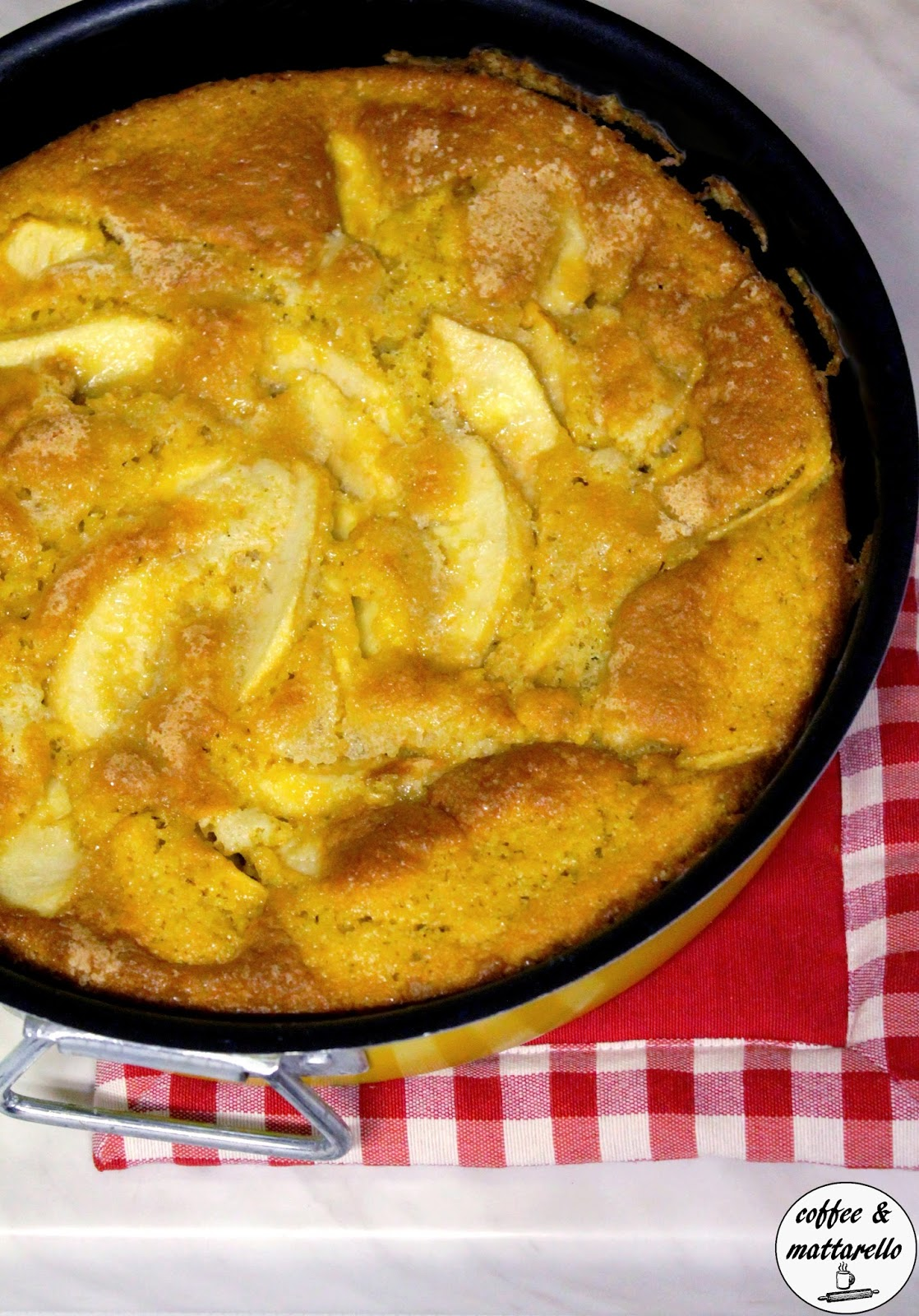 torta di mele (senza olio né burro)