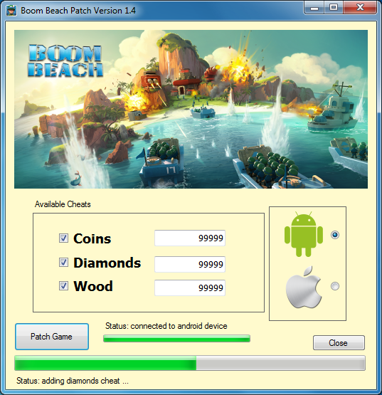Boom Beach Patch
