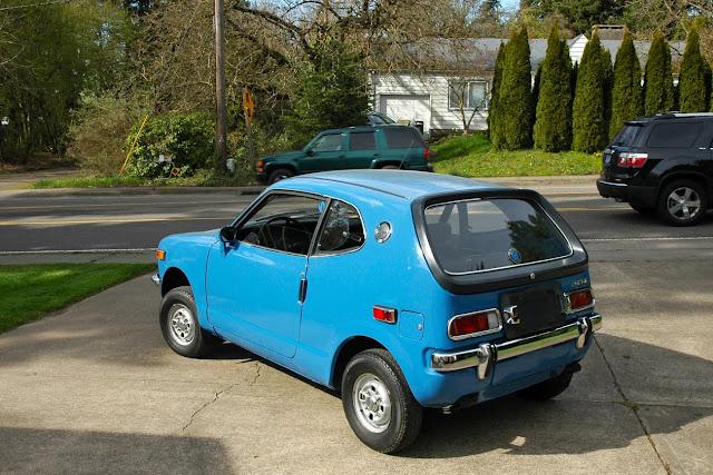 old parked cars 1972 honda z600 coupe. Black Bedroom Furniture Sets. Home Design Ideas