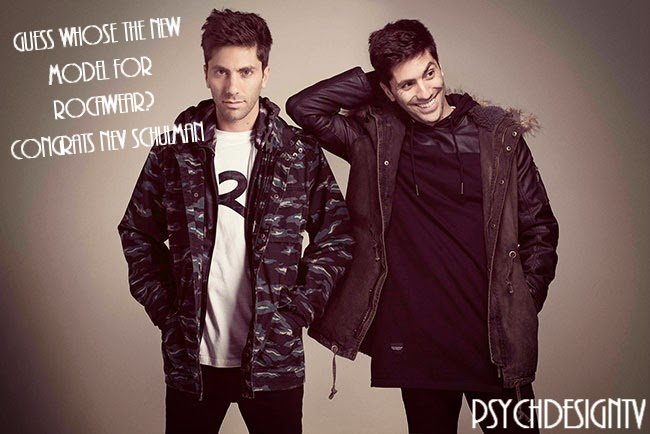 COOL! Nev Schulman is the New Rocawear Model! Congrats!