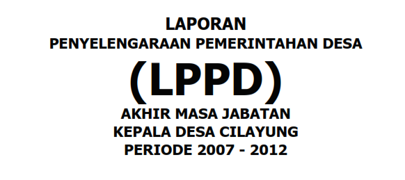 LPPD Akhir Masa Jabatan