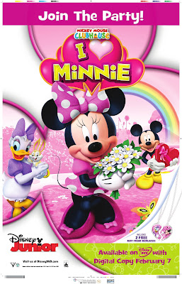 Mickey mouse clubhouse i heart minnie - η λέσχη του μίκυ