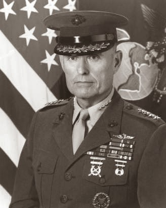 Military News - Gen. Carl Mundy, 30th commandant of the Marine Corps, dies