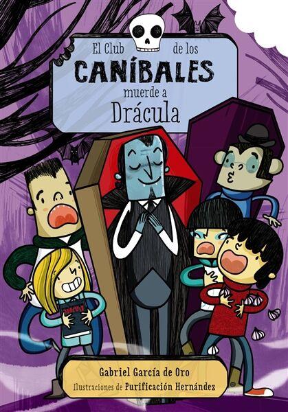El Club de los Caníbales MUERDE A DRÁCULA.ANAYA
