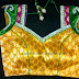 Bridal Designer Saree Blouse by Tansi Couture