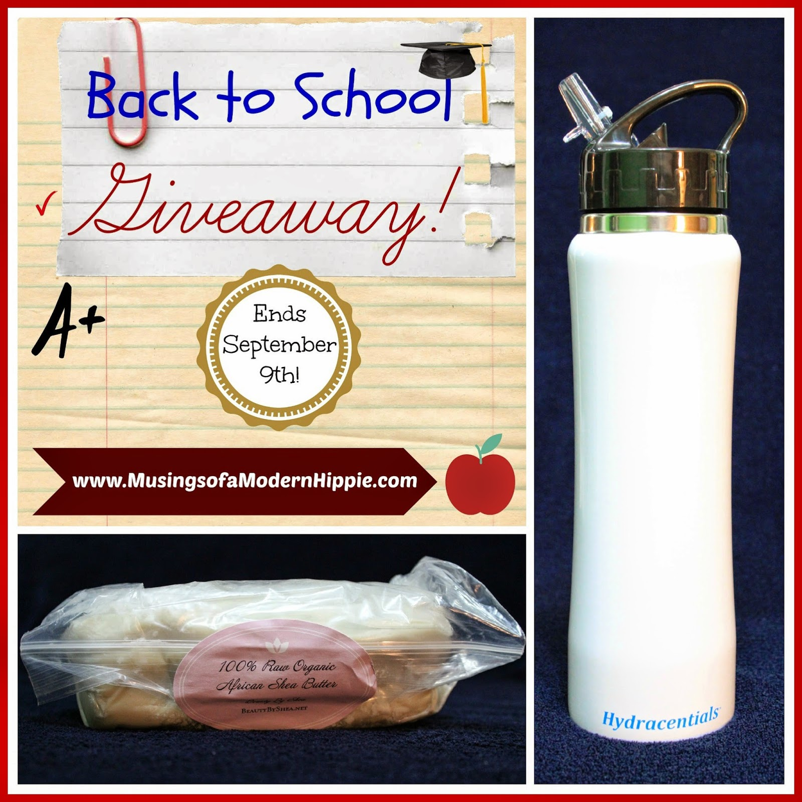 Back to School Giveaway | Musings of a Modern Hippie