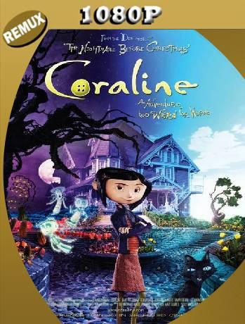 Coraline y la puerta secreta (2009) Remux [1080p] [Latino] [GoogleDrive] [RangerRojo]