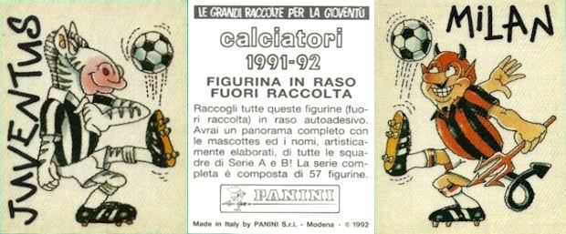 figurina CALCIATORI PANINI 1991//92 NEW numero 33 ATALANTA CANIGGIA