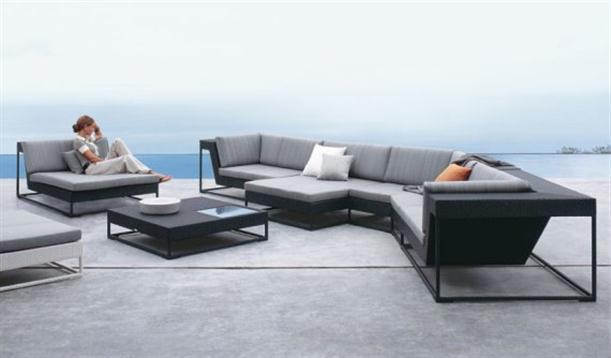 Dedon De dedon stylish outdoor sofa furniture design collection 2011 home