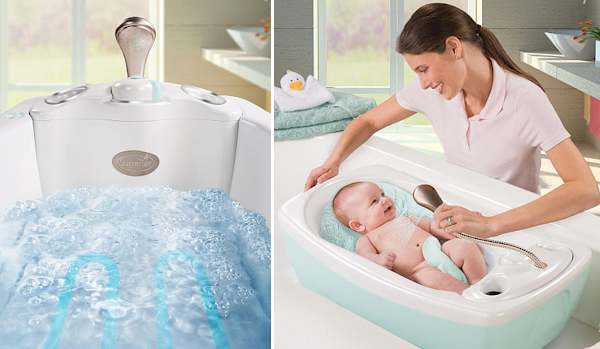 zordan 39 s world baby spa tubs and other fun things. Black Bedroom Furniture Sets. Home Design Ideas