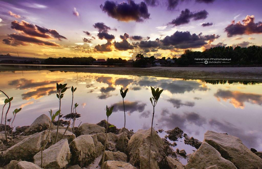 Sunset di Lagun Kuala Ibai