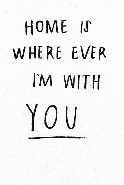 Amy in Austin: Home is Wherever Im With You