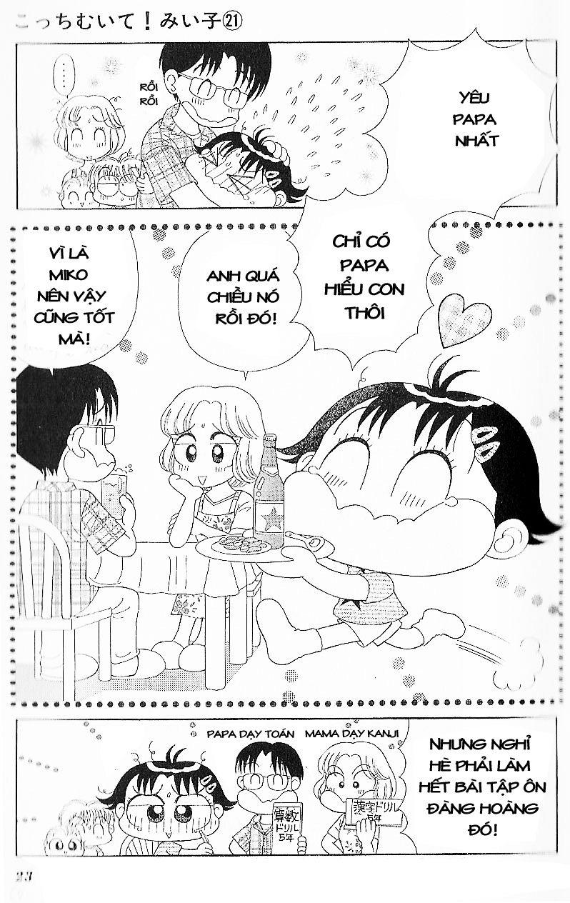 Kocchi Muite! Miiko chap 21 - Trang 21