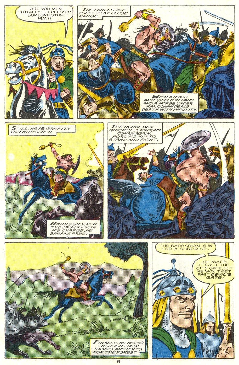 Conan the Barbarian (1970) Issue #219 #231 - English 15