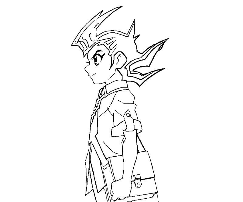 Free yugioh zexal coloring pages