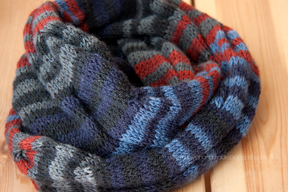 HandMade knitting: ???????? ???? ??? ???? ??? Burberry inspired cowl neck scarf