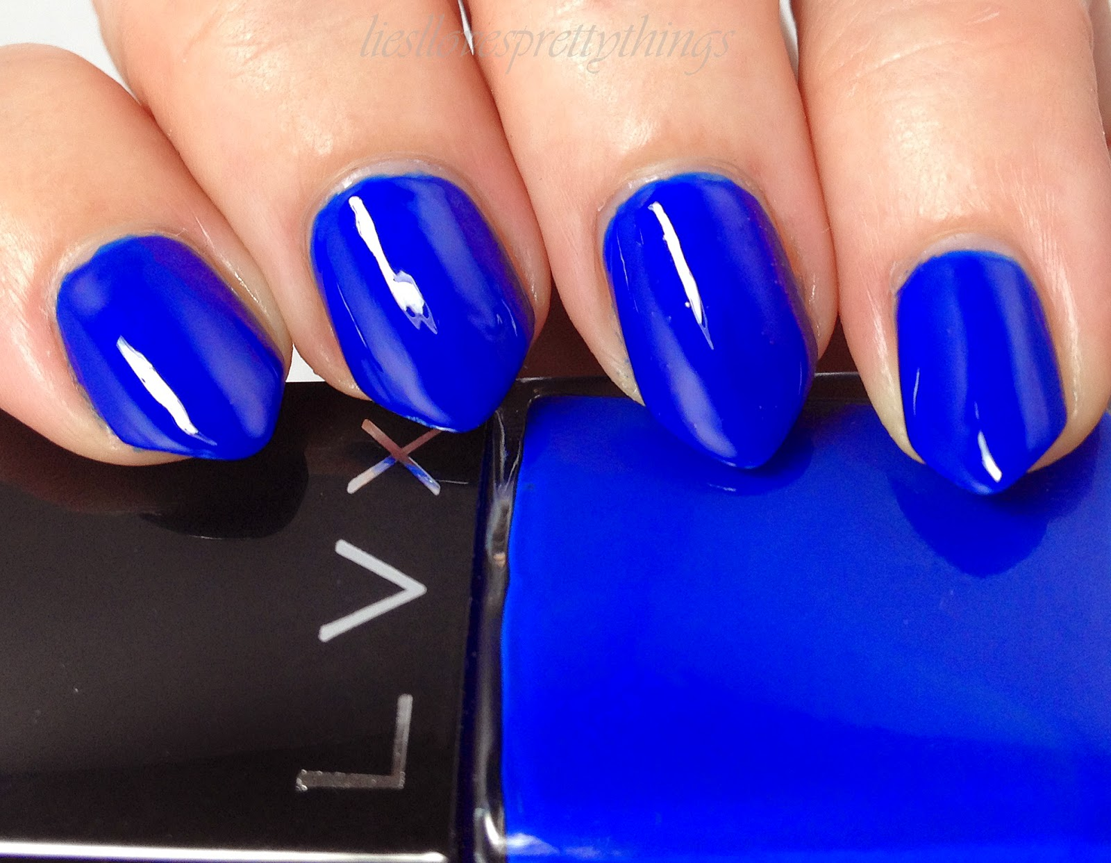 LVX Summer 2014 Collection Viola swatch and review