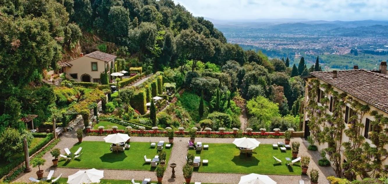 Hortibus voyage palais et jardins de toscane la villa for Jardin de toscane