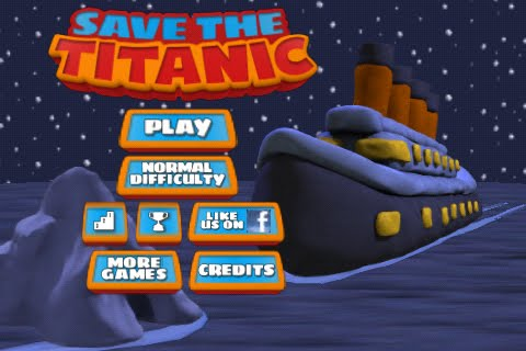 Save the Titanic Free App Game By Scary Robot Productions
