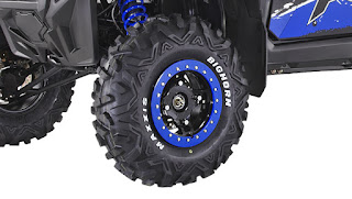 Bighorn tires on painted beadlock rims