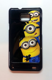 CUSTOM PRINTED CASE COVER Despicable Me 3 Minions for Samsung Galaxy S2