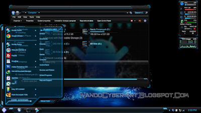 BLUE PREMIUM WINDOWS 7 THEME