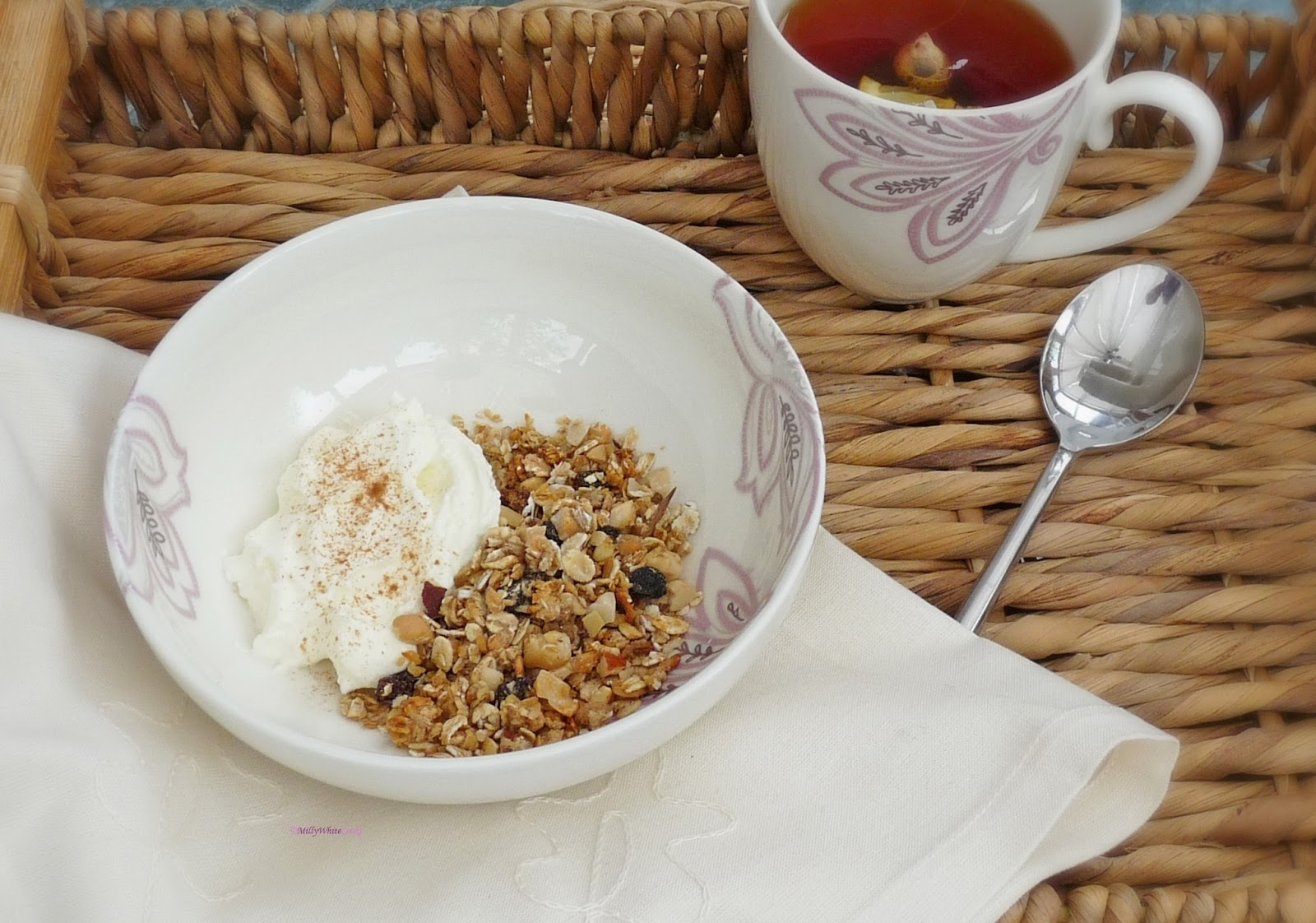 Heart Healthy Honey, Fruit & Nut Granola