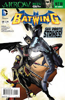 Batwing #17 Cover