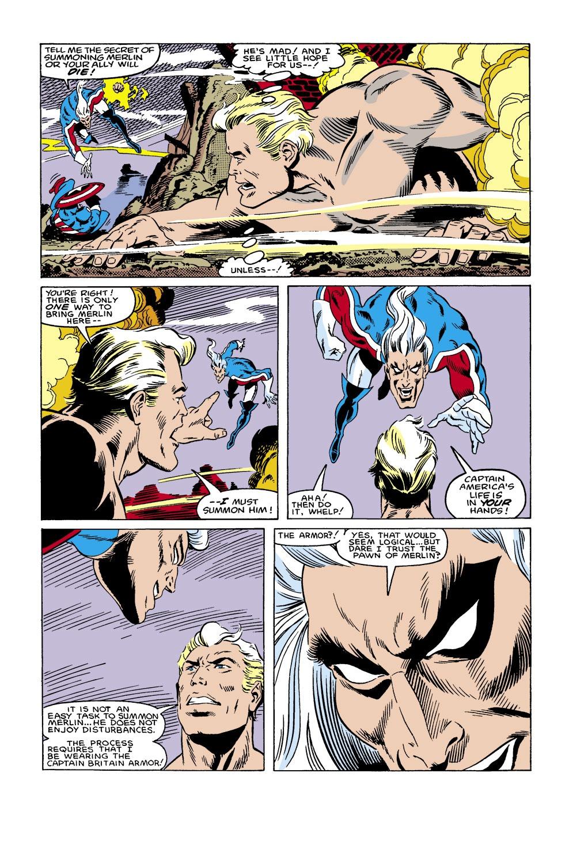 Captain America (1968) Issue #306 #234 - English 14
