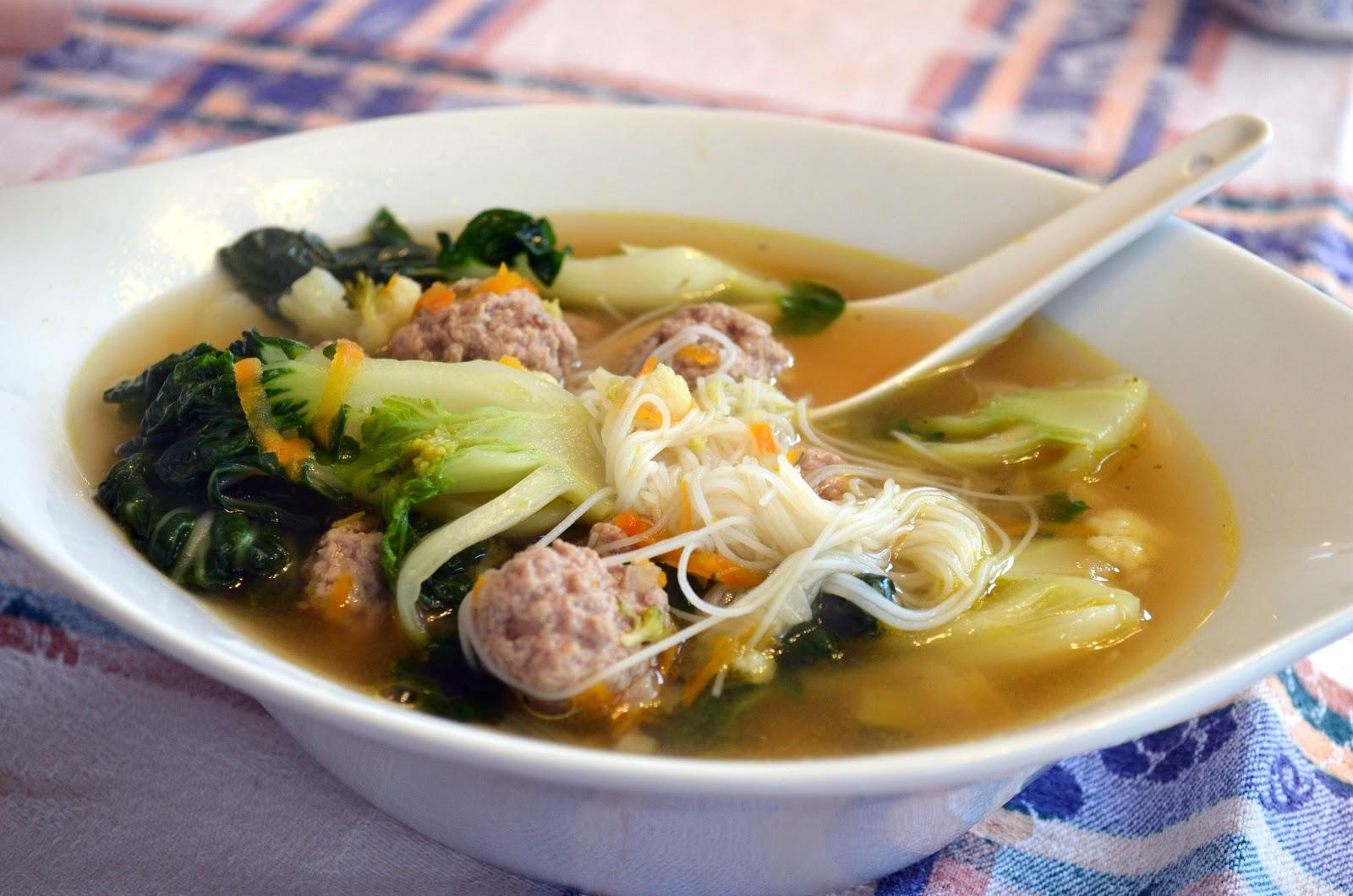 la cuisine minceur de nathalie soupe repas asiatique 2. Black Bedroom Furniture Sets. Home Design Ideas