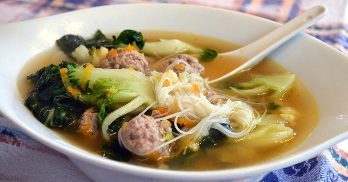 La cuisine minceur de nathalie soupe repas asiatique 2 - Cuisine de a a z minceur ...