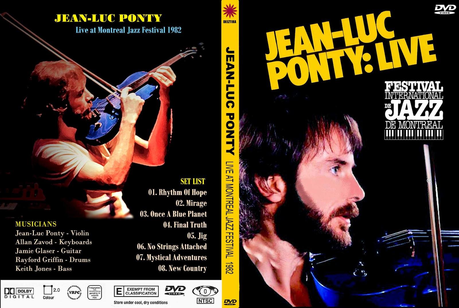 Jean Luc Ponty JEAN-LUC+PONTY+-+Montreal+Jazz+Festival+1982
