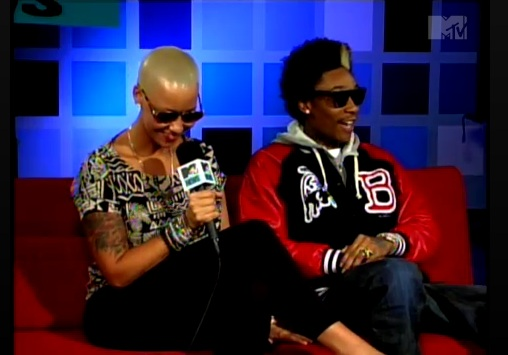 wiz khalifa amber rose engaged. wiz khalifa amber rose tattoo