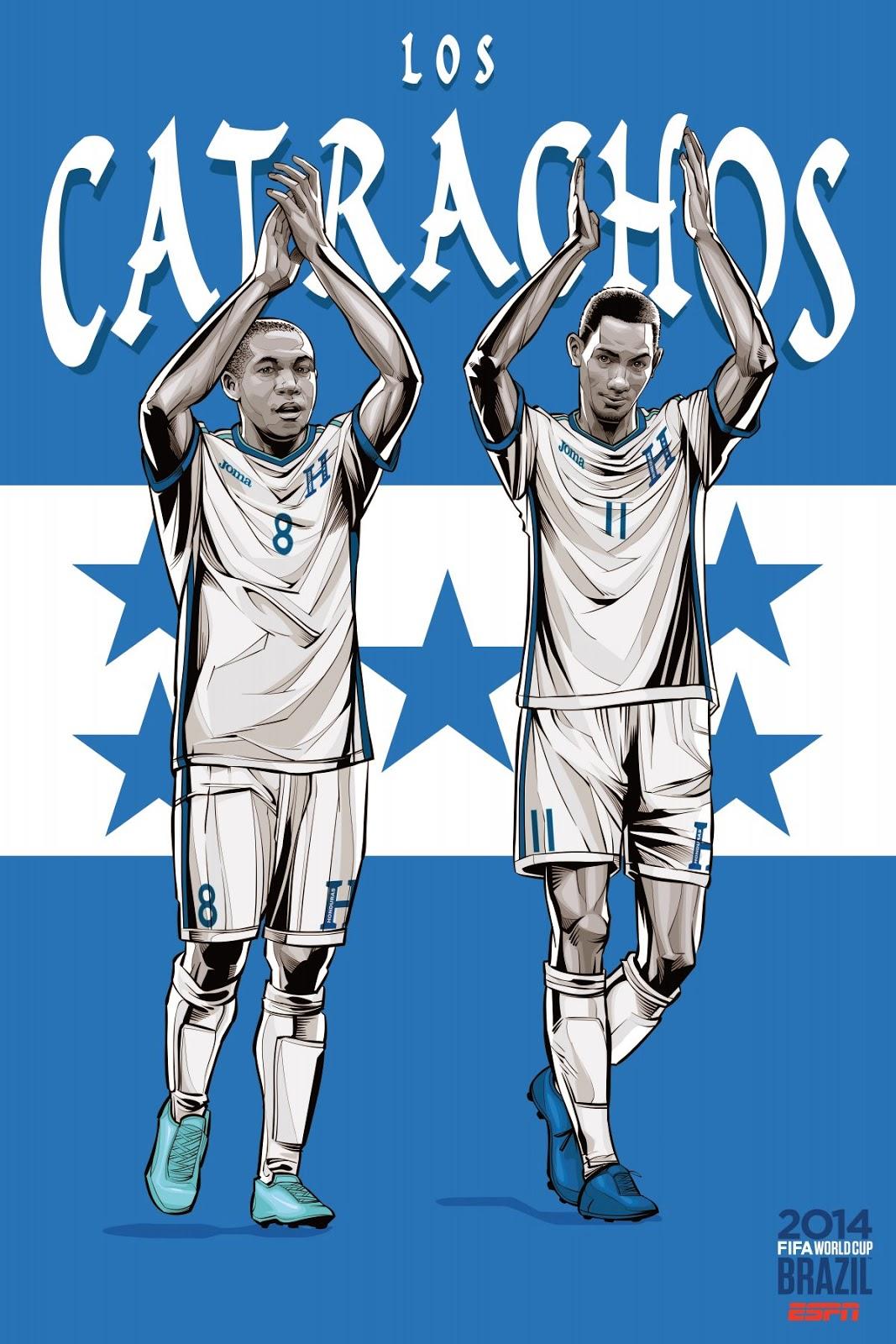 Honduras Team FIFA 2014