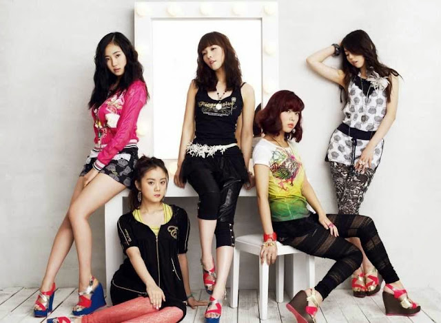 Girlband Wonder Girls
