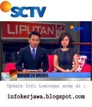 Lowongan Kerja SCTV (Surya Citra Televisi)