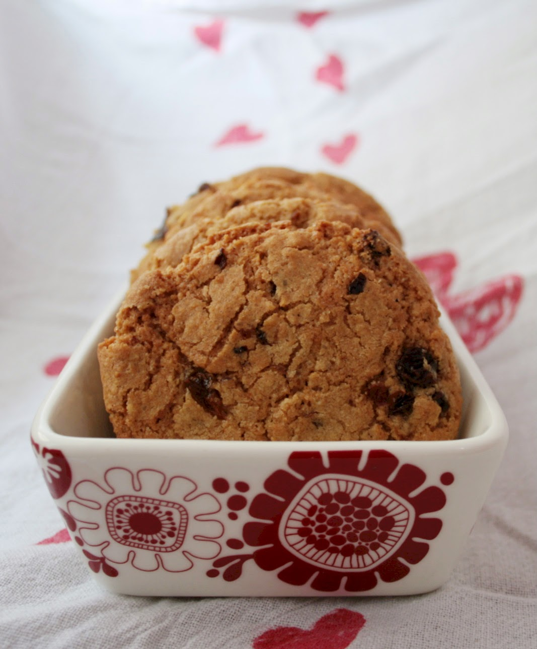 A twist on the classic Easter treat, hot cross buns - hot cross oatmeal cookies!