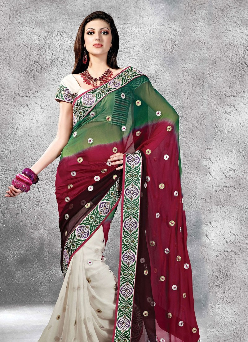 Wedding Sarees  Unique Wedding Ideas And Collections