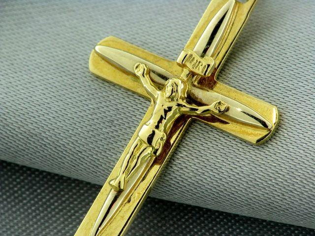 Золотые крестики мужские