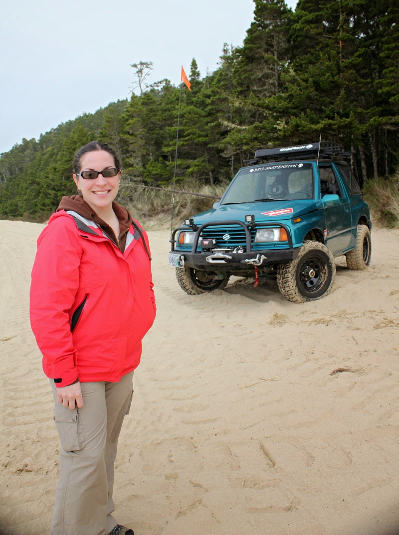 Mercedes and the Teal Terror at Winchester Bay