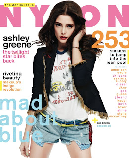 ashley in nylon magazine